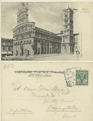 Lucca -Chiesa S.michele 1905