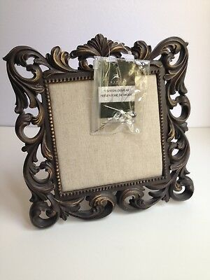 NEW w/TAGS! Vintage Style 10-inch Square Display Frame w/Mounting Pins