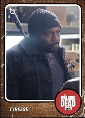 Tyreese-Vintage Iii-Wave 3-Topps Walking Dead Card Trader