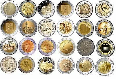 2 Euro commemorative coins 2017 - UNC, coincards
