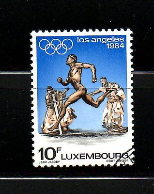 Luxembourg. 1984 Olympic Stamp - Used