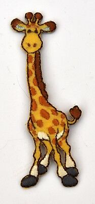 Giraffe Embroidered Motif Iron/Sew On Patch Embroidery