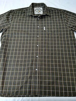 "Mens RYDALE shirt XXL 2XL chest 48"" collar 18.5"" Gransmoor short sleeves"