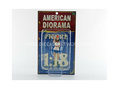 American Diorama - 1/18 - Figurines Hot Rodder - Nancy - 24008