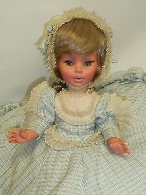 "15.5"" Vintage 1960's Furga Doll All Original Made in Italy, Beautiful"