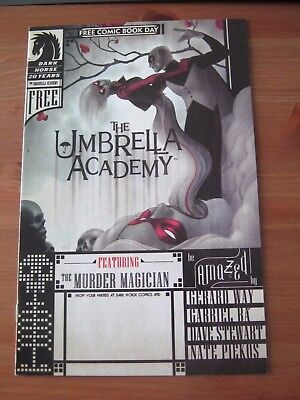 Umbrella Academy - Free Comic Book Day 2007 - Dark Horse - Gerard Way