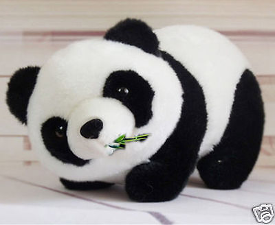 New 16cm Soft Stuffed Animal Panda Plush Doll Toy Birthday Girl Kid Gift  #530