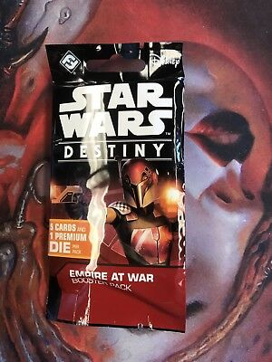 Star Wars Destiny - Empire At War Booster Pack Sealed Lot Of 12 No Legendary