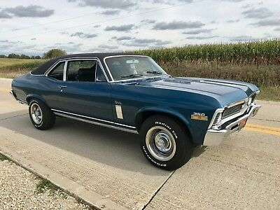 1970 Chevrolet Nova SS REAL DEAL #'s matching ONE OWNER bucket 4spd v8 1970 Chevy Nova SS Real Deal #'s matching ONE OWNER 4 speed buckets 350 v8 300HP