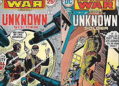 Lot Of 22 Star Spangled War Stories Unknown Soldier #164-#267 VG/LF FZ