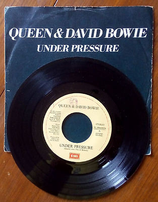 Queen & David Bowie - UNDER PRESSURE - SOUL BROTHER 45 giri