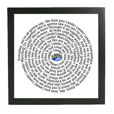 Leeds Rhinos framed print marching on together GIFT super league Winners Final
