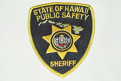 US State of Hawaii Public Safety Sheriff Hawaii Police Patch