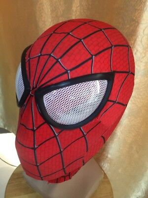 USA Amazing Spider-Man Mask 3D Eyes Digital Printing Hood Spiderman eyes shell