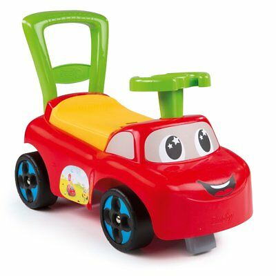 Smoby Baby Toddlers Ride On Push Along Car Truck Childrens Kids Toy Red 443015