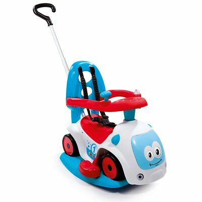Smoby 4-in-1 Baby Toddler Ride-on Car Toy Rocker Maestro Balade III Blue 720300