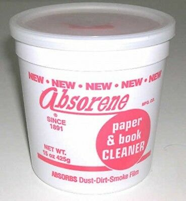 Absorene book and document cleaner