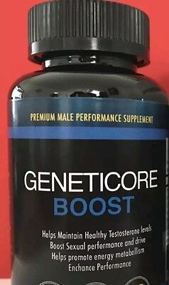 GENETICORE BOOST  (60 Capsules) Bodybuilding/ Performance  + FREE GIFT 🎁