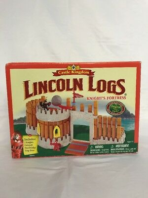 Lincoln Logs Kings Castle Kingdom Set 00916 Nib