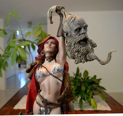 Sideshow Collectibles Red Sonja Exclusive Premium Format Statue