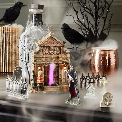 NEW Dept 56 Halloween Village Rest in Peace 2017 Annual Crypt 4059393 Lighted
