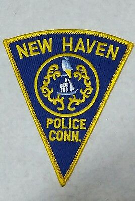 New Haven, Connecticut Police Shoulder Patch Ct