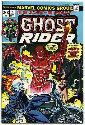 Ghost Rider #2 NM- 9.2 1st full app Daimon Hellstorm, 1st Son of Satan