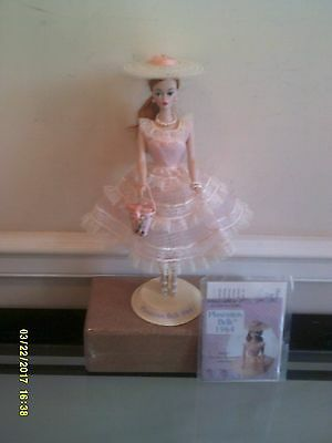 Used  BARBIE REPRODUCTION PORCELAIN PLANTATION BELLE BARBIE DOLL