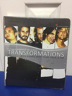 Real Social Dynamics Transformations Superconference CD Series  SEALED NEW