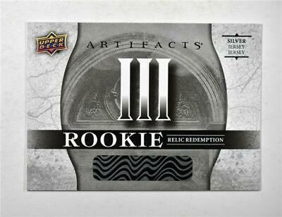2017-18 17-18 UD Artifacts Rookie Redemption Relic Silver #III