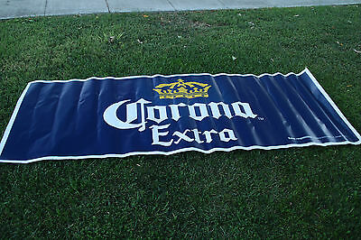 GIANT Corona Beer Sign! 40x100 inches! Genuine Corona Cerveza product!