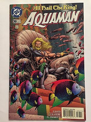 AQUAMAN #36 (Sep 1997, DC Comics) 'All Hail The King!'