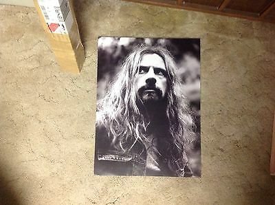 OOP! Original. 24x17 ROB ZOMBIE White Zombie Promo POSTER cd LP. music