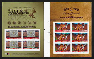 Canada Stamps -Gutter Pane of 10 -1912-2012, Calgary Stampede #2548b -MNH