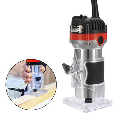 530W 6mm 1/4'' Electric Hand Trimmer Wood Laminator Router Joiners Tool 220V