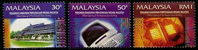 Malaysia 1994 MNH MUH Set - Opening of New National Library Building