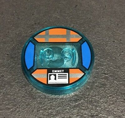 The Lego Movie Emmet Character Tag Lego Dimensions. No Lego Just Tag