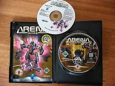 Arena Wars PC CD Game Software Old School