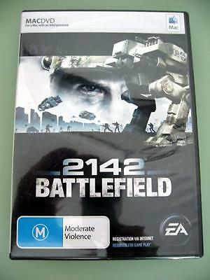 Apple Mac Game DVD 2142 Battlefield by EA The Future of War