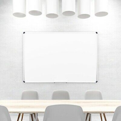 MAGNETIC WHITEBOARD PREMIUM QUALITY 900 x 1200 mm FREE FIXS FREE DELIVERY