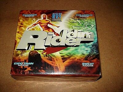 Riddim Rider - 4 CD Box Set / Limited Edition / 2003 / OVP, Sealed / Reggae