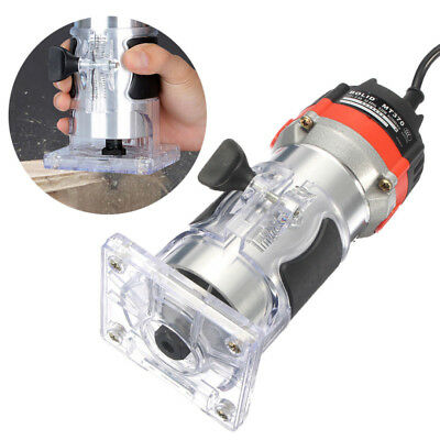"""220v 35000rpm 530w 1/4 """" Electric Hand Trimmer Holz Laminiergerät Router Tool"""