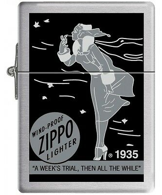 Briquet Zippo - Windy Girl 1935 Replica