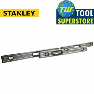 Stanley Fatmax Box Beam Level Set 60cm 2ft & 120cm 4ft Twin Pack XMS17PROLEV4