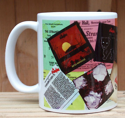 The Stranglers Concert tickets albums Classic rock tribute mug