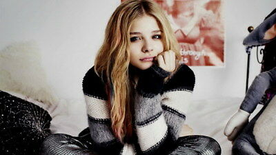 "019 Chloe Moretz - Hit Girl Beauty Hot Movie Actress Star 24""x14"" Poster"