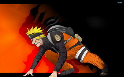 "226 Naruto - Uzumaki NINJA Fighting Hot Japan Anime 22""x14"" poster"