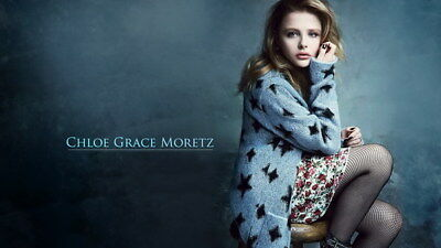 "088 Chloe Moretz - Hit Girl Beauty Hot Movie Actress Star 24""x14"" Poster"