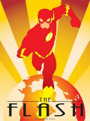 "020 The Flash - Justice League USA Hero Season 1 TV 14""x18"" Poster"
