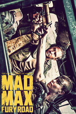 "140 Mad Max 4 Fury Road - Fight Shoot Car USA Movie 14""x21"" Poster"
